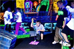 Brave, budding Tiger Woods should putt their way to Monster Mini Golf. The spooky 18-hole course is haunted by monsters and ghouls. Grim? Maybe, but at least it's inside.     $8 for adults: $7 for kids. Locations in Danvers, Norwood, Fairhaven, Seekonk, Webster, and in Warwick, R.I. www.monsterminigolf.com