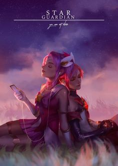 Jinx and Lux | Star Guardians