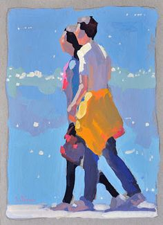 Lena Rivo's Painting Blog: Young Couple