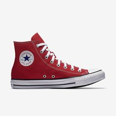 24ee1f4137dde Converse Chuck Taylor All Star Unisex High Top Red