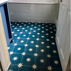 19 Amazing Creative ideas For Floor Patterns, Star Patterns, Tile Patterns, Moroccan Tile Bathroom, Moroccan Tiles, Moroccan Bedroom, Moroccan Lanterns, Moroccan Interiors, Moroccan Decor