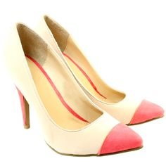 Cream/Candy Court Shoes.