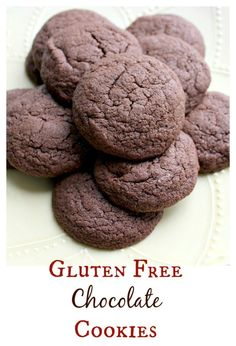 The best gluten free chocolate cookie recipe I've tried yet!  They are delicious on their own or you can mix in chips, nuts, dried fruit, or whatever you please!  So good - bet no one will even know they are gluten free!    www.OurLittleEverything.com