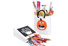 #Bricolage: des sacs à #surprises pour l'Halloween #halloween #brico #diy #bonbons #deco