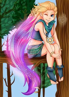 Zoe League Of Legends by KaoriCookie