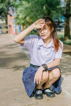 School Girl Outfit, Girl Outfits, Girls Uniforms, Japan Girl, Beautiful Asian Girls, Student, Sexy, Cute, Women