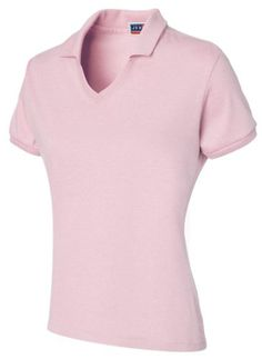 Jerzees Women's Jersey Knit Polo ** Click on the image for additional details.