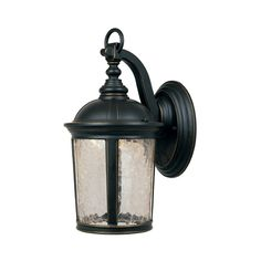 Designers Fountain Lighting LED Outdoor Wall Light with Clear Glass in Aged Bronze Patina Finish | LED21331-ABP | Destination Lighting