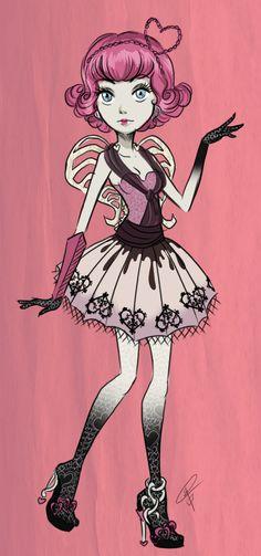 C.A. Cupid - Monster High by ~Srta-Uchiha on deviantART