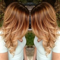 Golden Blonde Balayage and hotheads hair extensions