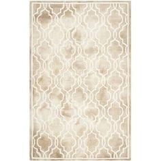 House of Hampton Hand-Tufted Beige/Ivory Area Rug Rug Size: 10' x 14'