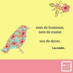 Sou de doces Instagram Blog, Instagram Story, Instagram Posts, Message Quotes, Desiderata, Cute Kitchen, Sweet Words, Positive Thoughts, Positivity