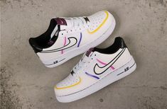 Nike Air Force 1 Low Day Of The Dead CT1138-100 Air Force 1, Nike Shoes Air Force, Nike Air Force Ones, Malaga, Sneakers Fashion, Sneakers Nike, Fashion Shoes, Jordan Sneakers, Style Fashion