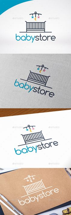 Baby Shop Logo Template — Vector EPS #logotype #creative • Available here → https://graphicriver.net/item/baby-shop-logo-template/13366233?ref=pxcr