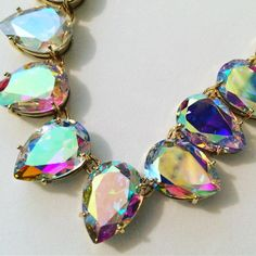 Diamonds may be a girls best friend but we are also very partial to the beautiful Aurora Borealis coated crystal, such sparkle and colour! #eternalcollection #crystals #costumejewellery #auroraborealis #jewellerygram #jewellerylove #giftideas #christmasshopping #sparkle #forher #jewelry #crystals #necklace #jewellerydesign #costumejewelry