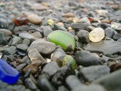 Sea glass hunting in Nova Scotia, best sea glass beaches.