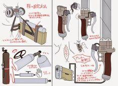 SnK - Cosplays - Sword - AoT - 3dmg - Attack On Titan - Shingeki No Kyojin
