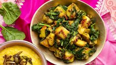 Saag aloo - z květáku Saag, Kung Pao Chicken, Broccoli, Tasty, Fresh, Vegetables, Cooking, Healthy, Ethnic Recipes