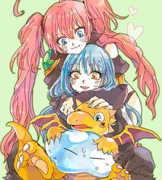 Ken Anime, Manga Anime, Anime Art, Slime, Dragon Names, Anime Friendship, Anime Group, Cute Anime Pics, Dope Art