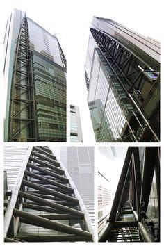 Nippon Television Tower Shimbashi, Tokyo 2004 Richard Rogers JapArch, photo by Hubert Roguski