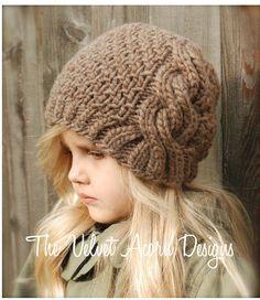 Greyre Cloche' Knitting pattern by The Velvet Acorn Knitting For Kids, Free Knitting, Knitting Projects, Baby Knitting, Crochet Projects, Velvet Acorn, Knitting Patterns, Crochet Patterns, Knit Crochet