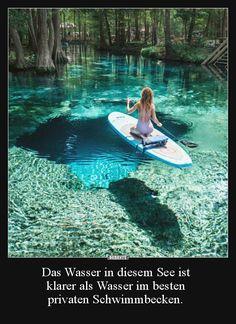 Das Wasser in diesem See ist klarer als Wasser im besten.. | Lustige Bilder, Sprüche, Witze, echt lustig
