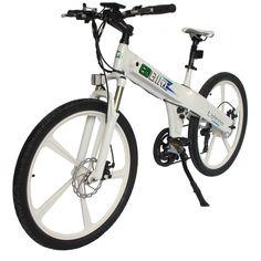 In Vw Electric Bike Mag Wheel Sports E Mountain Bicycle White Flash Adult Fast Electric Bike