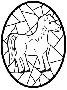 Free Coloring Pages, Coloring Sheets, Coloring Books, Animal Activities, Autumn Activities, Hl Martin, Mandala Design, Cartoon Caracters, Year Of The Horse