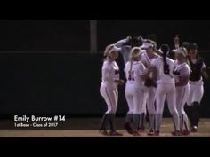 CA Varsity Softball: 1st Base Off Bag Save & Tag Out. Great Oak vs Valen...