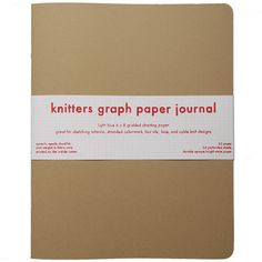 Knitters Graph Paper Journal – Knitting Bee