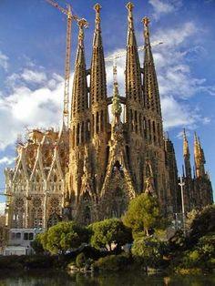 Temple de la Sagrada Familia Panoramic, Barcelona