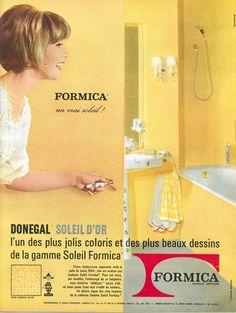 """Donegal, gamme """"Soleil"""" de Formica - Jours de France, 9 mai 1964"""