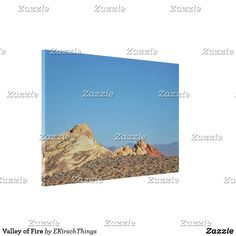 Valley of Fire Canvas Print