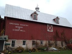 Orchard Country Winery  door county, wi try the sweet cherry lyte wine.  Omg!!!!  Great place!!!