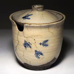Ceramiczna cukiernica z muchami - Moja Ceramika | Moja Ceramika