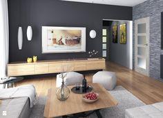 Salon DOM GC6-28 - zdjęcie od Dom.pl Projekty domów - Salon - Styl Nowoczesny - Dom.pl Projekty domów