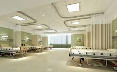 hospital Serving with quality care and diagnosis. One stop hospital in prescription and medicinal services that are arranged in heart of East Delhi. Interior Design Renderings, Clinic Interior Design, Clinic Design, New Hospital, Hospital Room, Modern Hospital, Medical Office Design, Healthcare Design, Room Interior