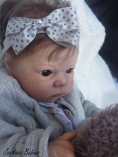 Jackies Babies~Reborn baby girl Dimitri~Adrie Stoete~special edition | eBay