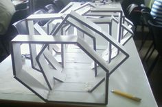 maqueta abstracta - Buscar con Google Más Folding Architecture, Parametric Architecture, Parametric Design, Architecture Student, Concept Architecture, Contemporary Architecture, Architecture Design, Transitional Home Decor, Transitional Kitchen