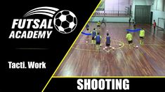 A simple game with two goals that allows you to work beyond finishing the rapid change from attacking to defensive attitude. Soccer Drills, Shooting Games, Coaching, Studio, Videos, Coaches, Soccer, Soccer Workouts, Shooter Games