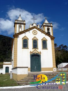 Igreja Nossa Senhora da Lapa - Ribeirão da Ilha - http://www.belasantacatarina.com.br/ribeirao-da-ilha-florianopolis/