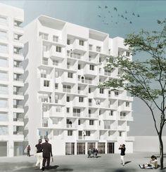 Herzog & de Meuron Unveils Lyon Confluence - Ilot A3