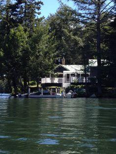 adorable lake cottage