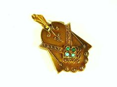 Victorian 14k Gold Antique Locket with by Mosaicsandjewelry, $695.00