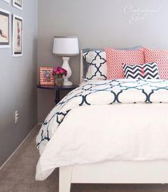 Bedding http://www.bobbyberkhome.com/product/duvet-sets/10328-43673/quatrefoil-midnight-duvet-set.html