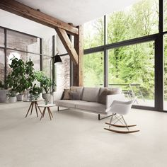 Porcelain stoneware wall/floor tiles with stone effect HIGHSTONE LIGHT Highstone Collection By CERAMICA SANT'AGOSTINO
