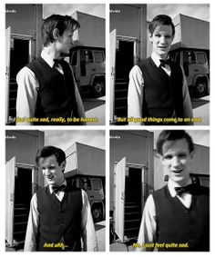 Doctor Who | The Time of The Doctor -- Behind the Scenes - Matt just filmed last scene