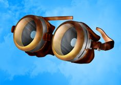 Steampunk Goggles on Behance