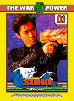 kim junmyeon <suho> | the war: the power of music | exo