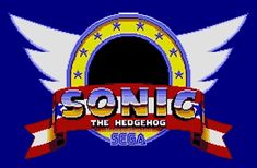 Sonic the Hedgehog Logo GIF